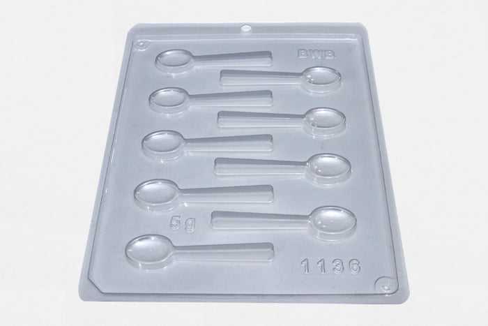 Forma de Acetato Colher Pequena N1136 Bwb