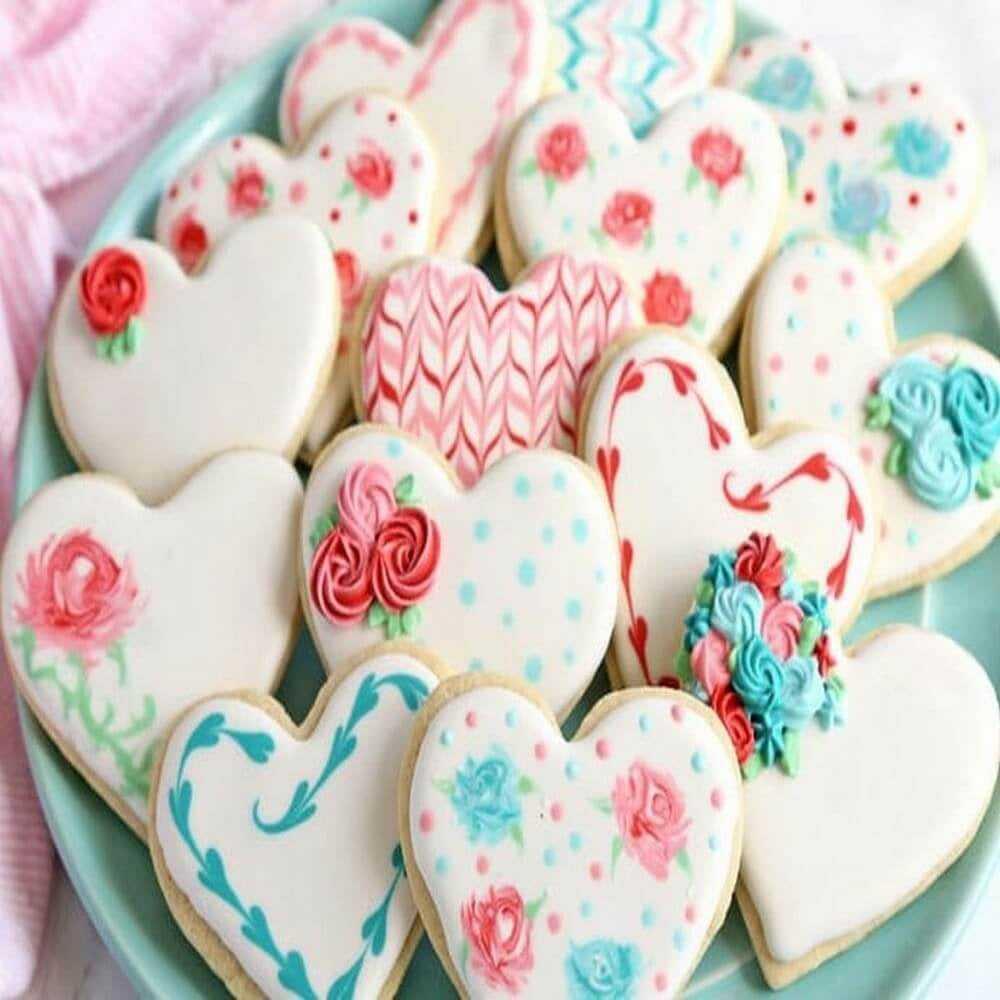 Curso Prático de Biscoitos Decorados e Rosas de Biscoito 25/04/20 08h30 às 12h30