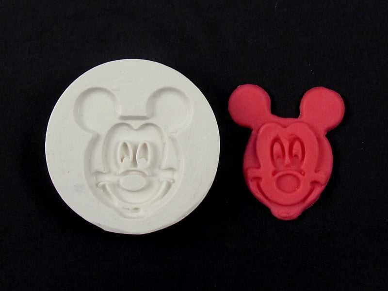 Molde de Silicone Rosto Mickey S0021 Gummies