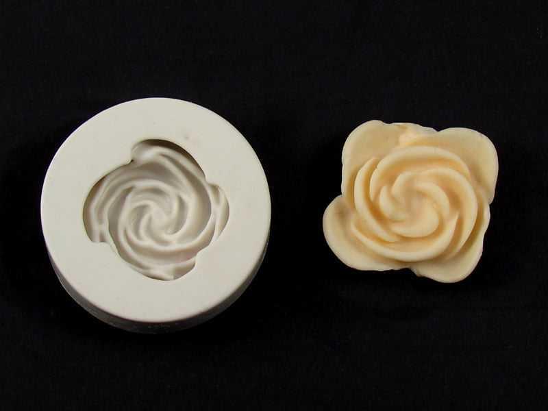 Molde de Silicone  Rosa 10 S1139 Gummies