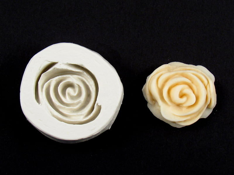 Molde de Silicone de Rosa 11 S1156 Gummies