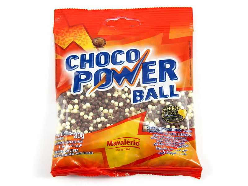 Choco Power Micro Ball Preto e Branco 80g