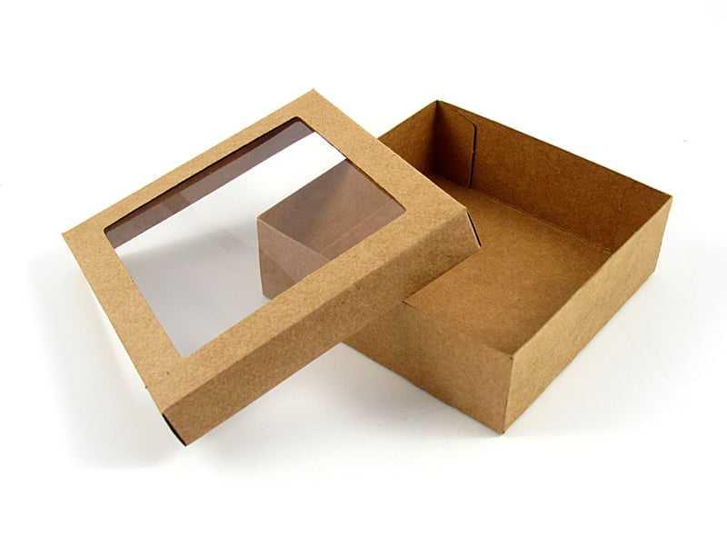 Caixa Krafft Acetato Visor 15x15x4 cm Agabox