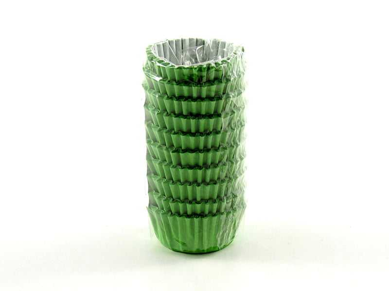 Forminha de Papel N3 Verde c/100 Vipel
