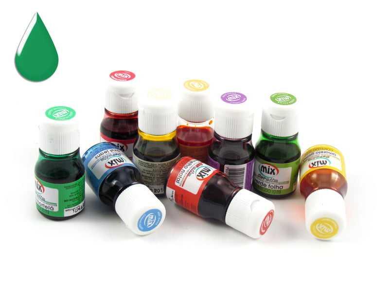 Anilina Liquida 10ml Verde Hortelã Mix