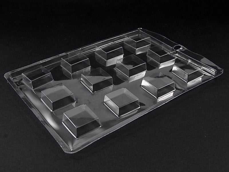 Forma de Acetato Quadrado Liso N1176 Nishimoto