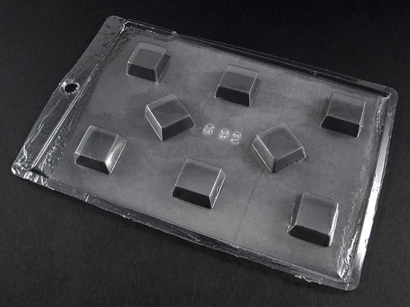 Forma de Acetato Bombom Quadrado N892 Tríade