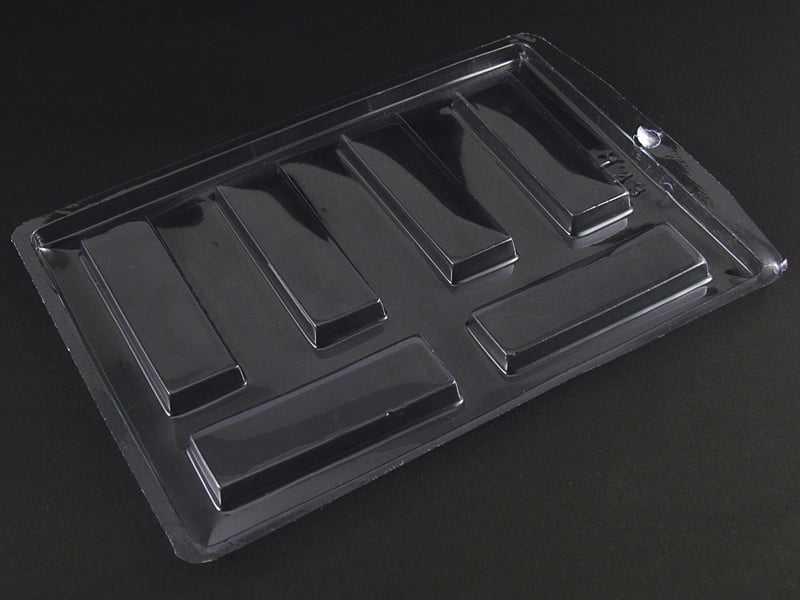 Forma de Acetato Tablete Liso 8X2,5 N143 Nishimoto