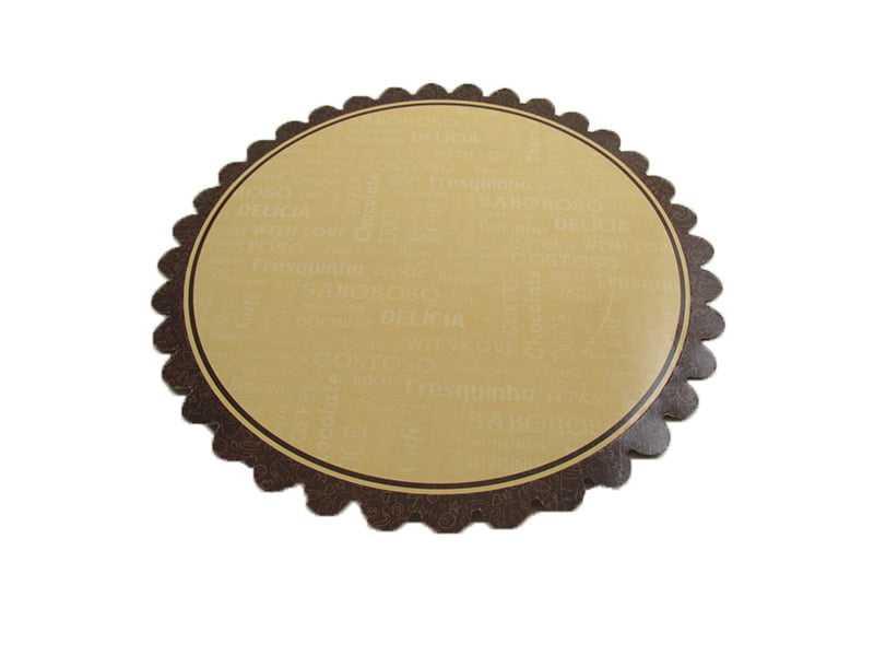 Prato descartável para Bolos e Tortas 25cm - Pris Cake