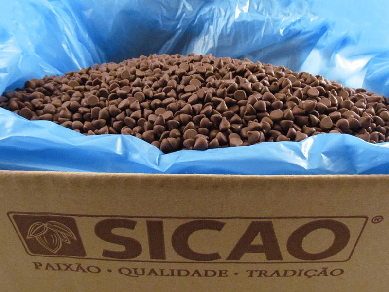 Chocolate Sicao Chips ao Leite 10kg