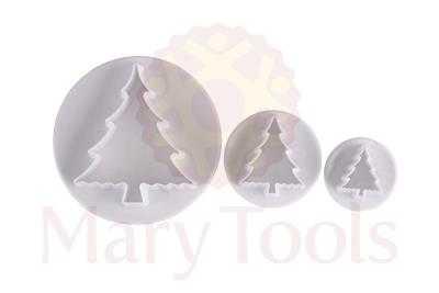 Cortador Árvore de Natal com 3 Peças - Mary Tools