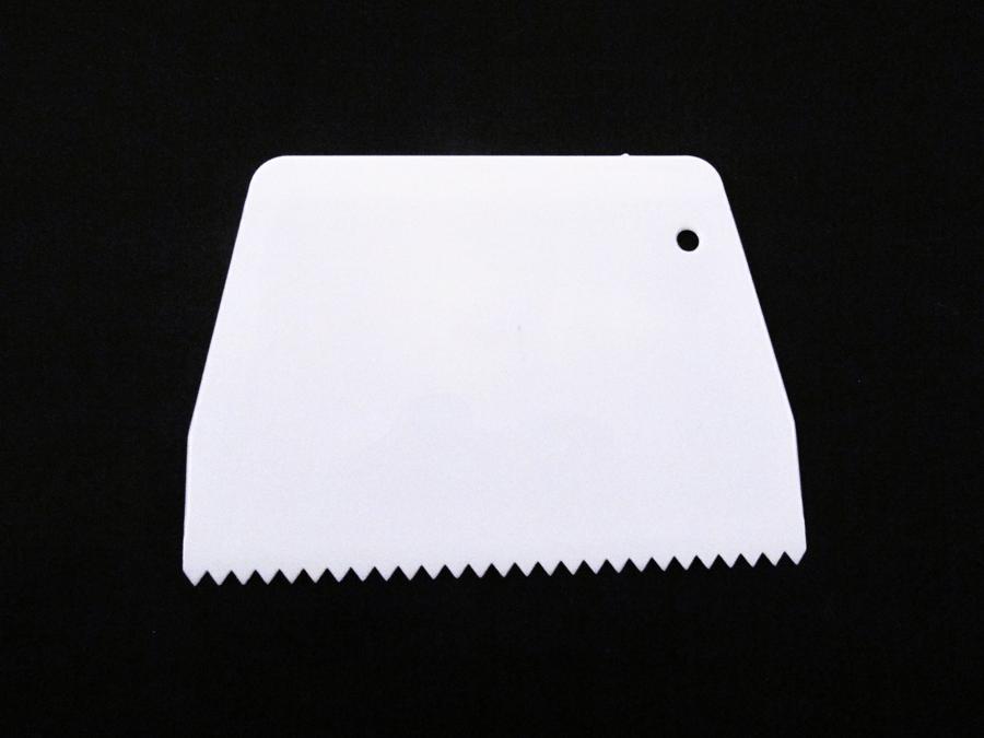 Espátula Plástica Pente 13,5cm Mary Tools
