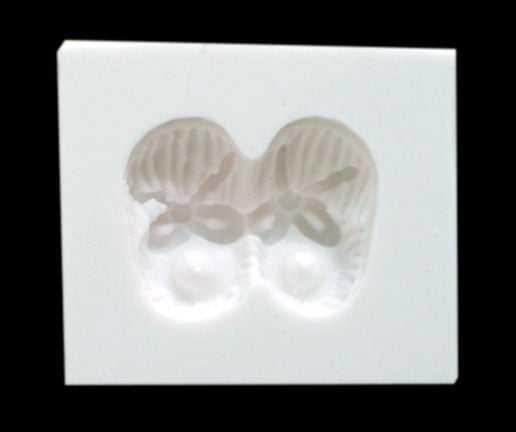 Molde de Silicone Sapato de Bebê Pequeno - MZL