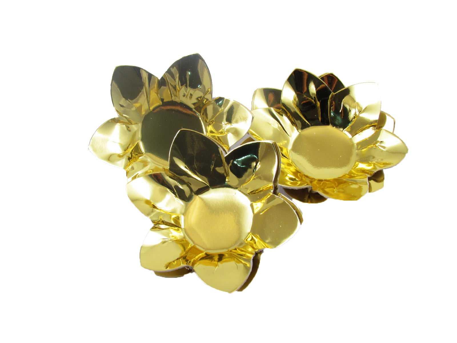 Forminha para Doce Metalizada Ouro c/40 Nishimoto