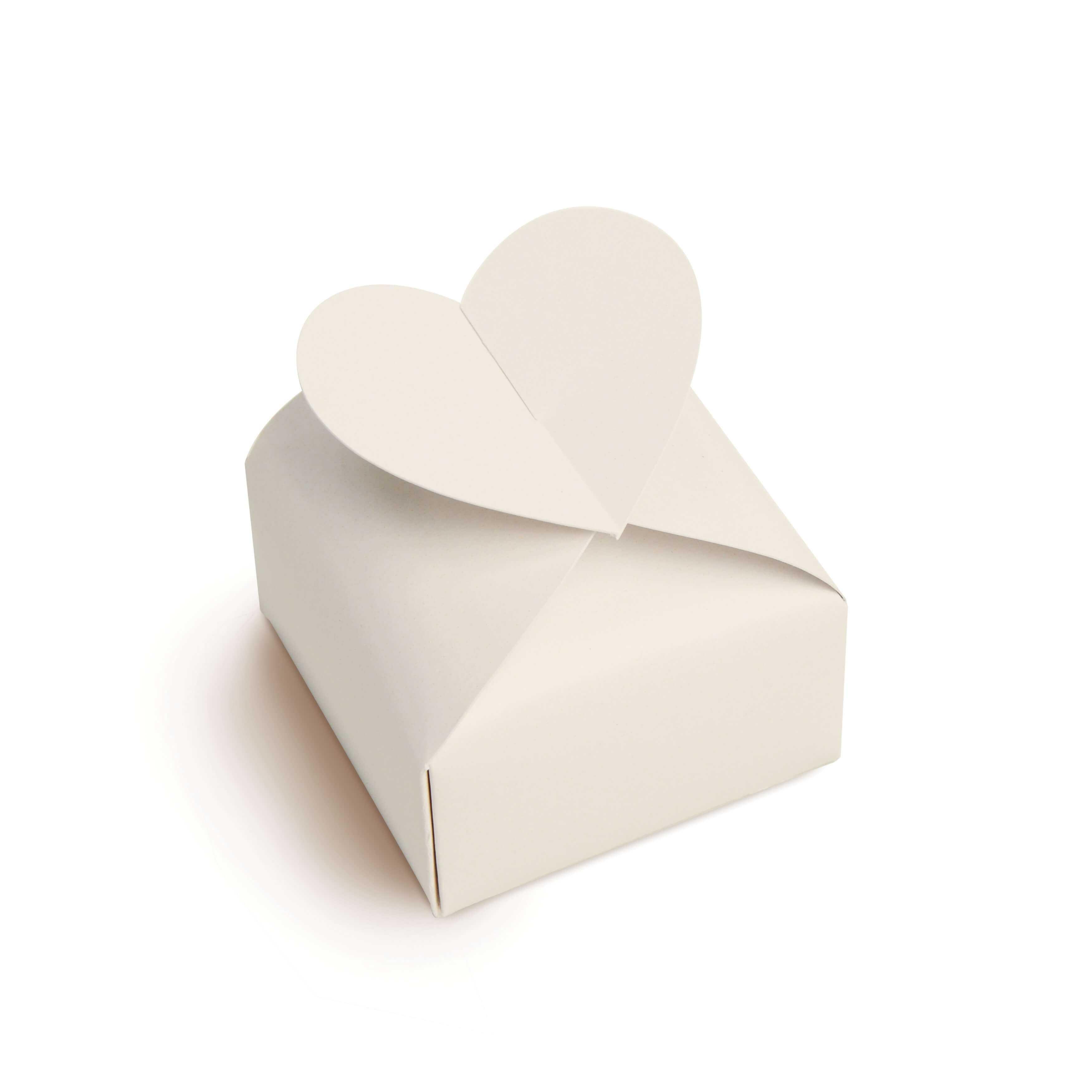 Caixa para Bem Casado Coração c/24 Coleção  Casamento Romântico Cromus