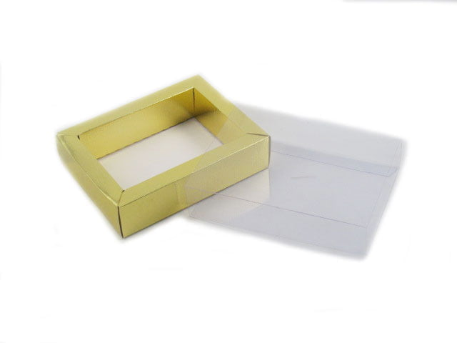 Caixa Retangular Estojo Metalizada 15,5x11,8x3,5 cm Csr