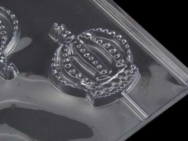 Forma de Acetato Pirulito Coroa G 3500 C