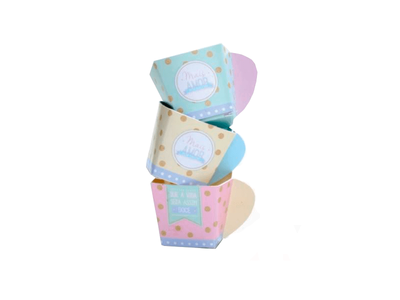 Wrapper para Cupcake Páscoa c/12 - Cromus
