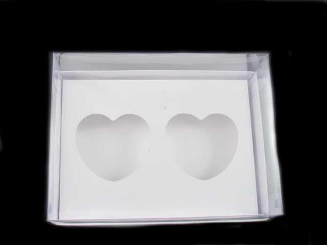 Caixa de Acetato para Coração de Colher 100g Csr