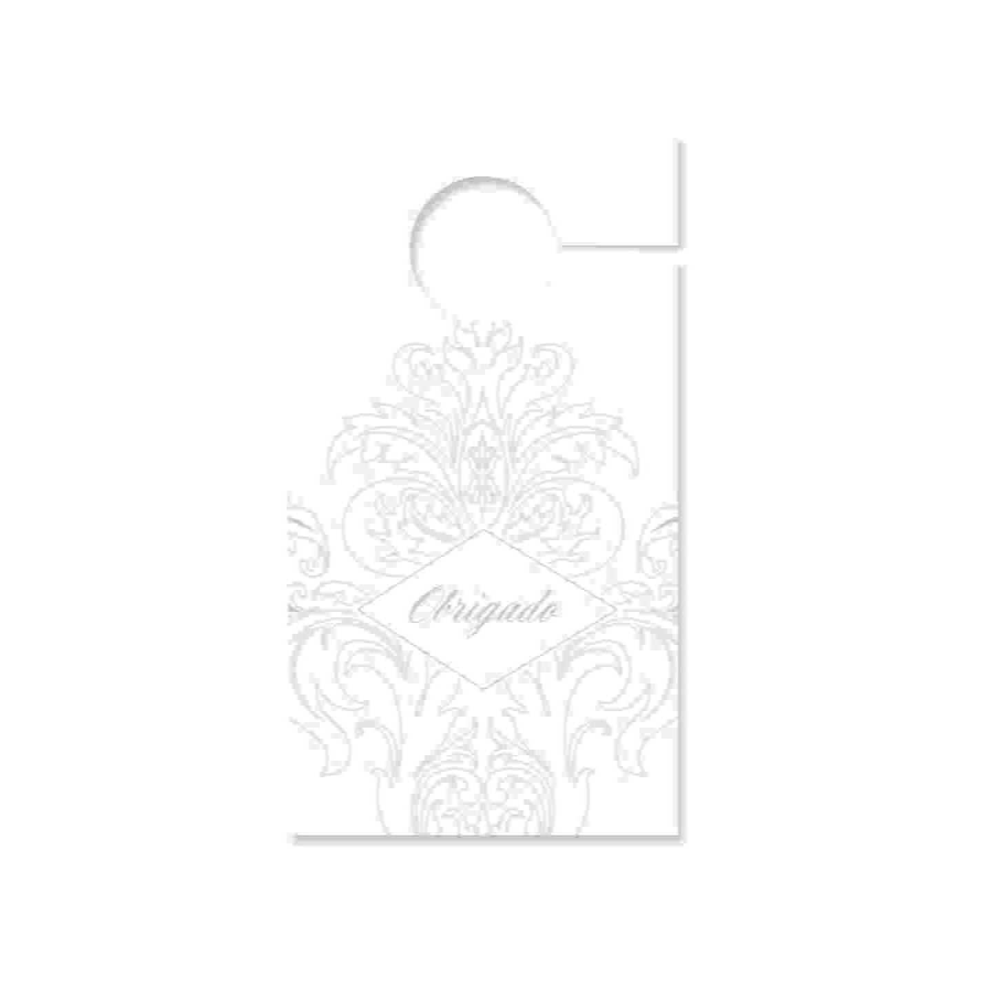 Tag para Retrovisor Coleção Casamento Clássico Cromus