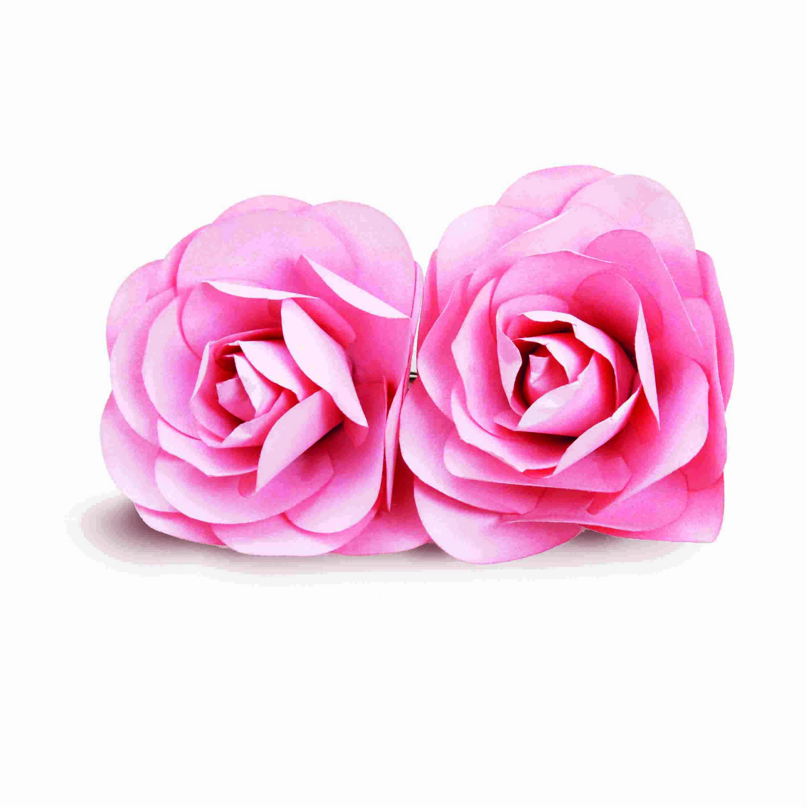 Flor de Papel Decorativa c/2 Coleção Casamento Cromus