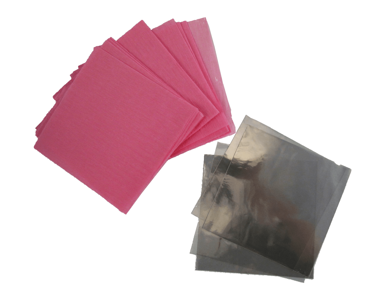 Kit para Bem Casado Crepom Rosa c/40 Cromus