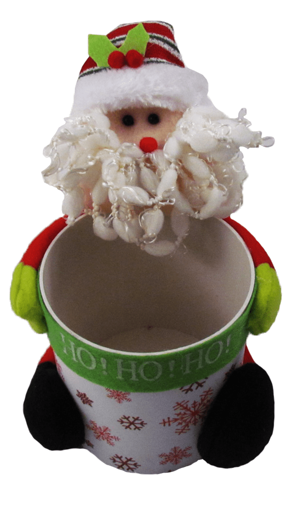 Pote de Natal Noel Multiuso 11x11,7 cm Yangzi