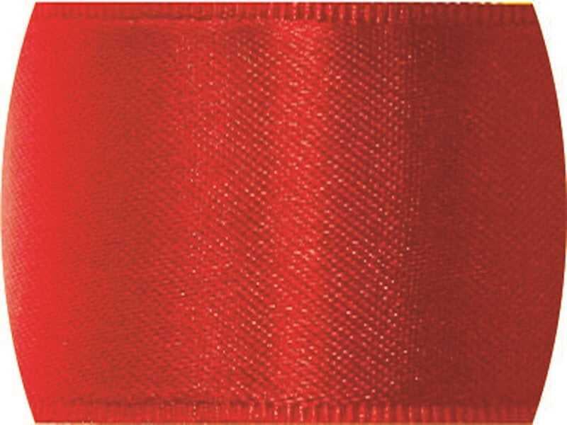 Fita de Cetim Lisa n°0 Vermelho – CF209 – Progresso