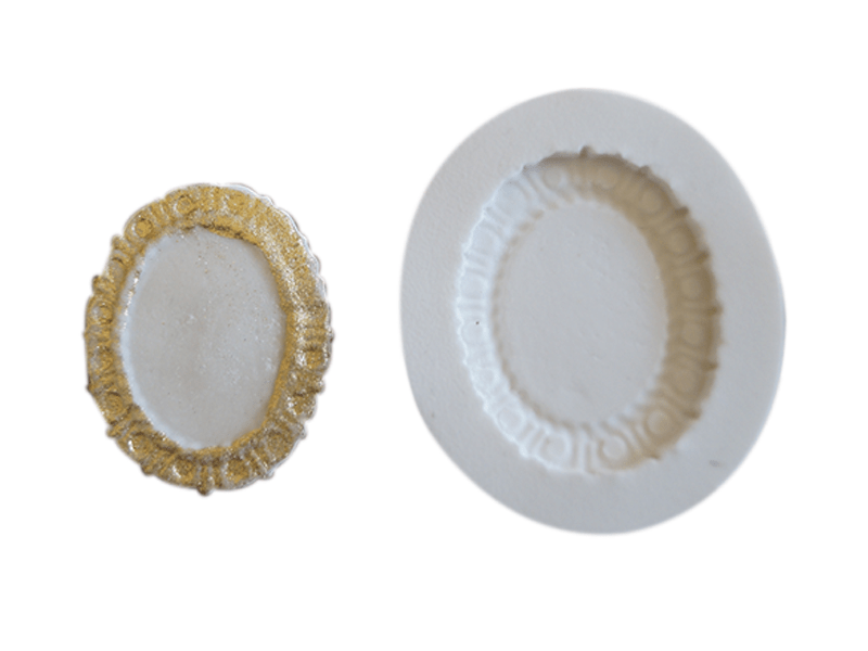 Molde de Silicone Medalhão II S2002 – Gummies