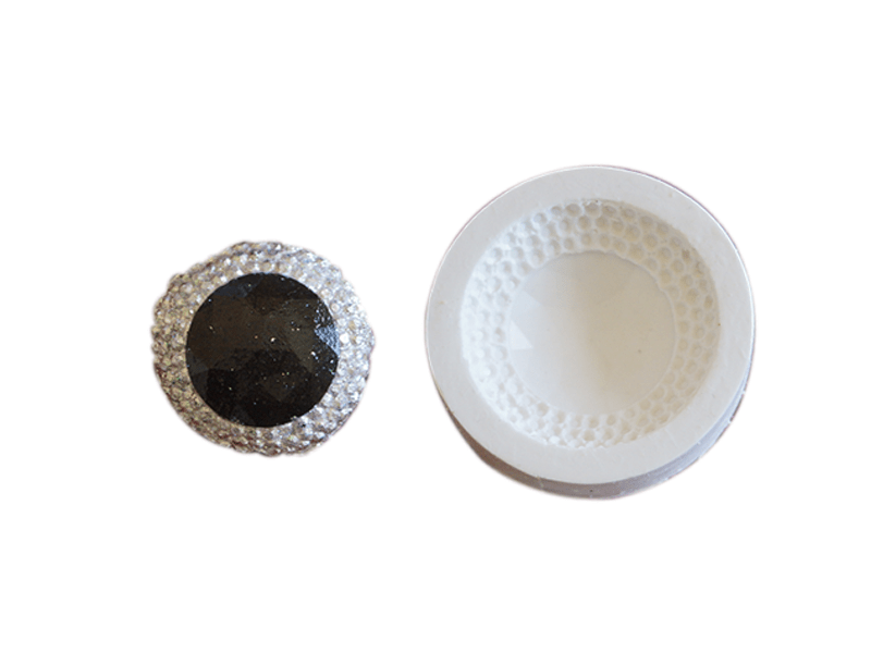 Molde de Silicone Medalhão  III S2008– Gummies