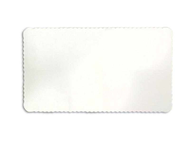 Disco Laminado para Bolos e Tortas Retangular 35x20cm – Branco – Ultrafest