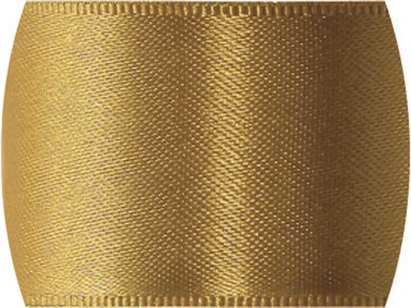 Fita de Cetim Lisa n°9 Ouro – Progresso
