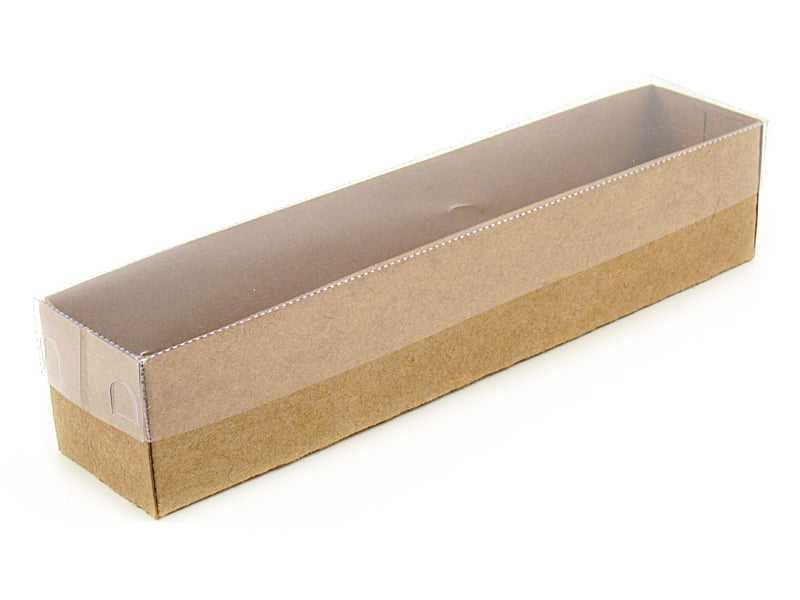 Caixa Kraft com Visor 20x4x4 cm - Agabox