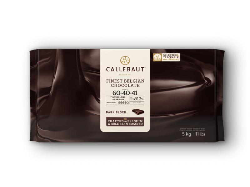 Callets Callebaut Chocolate Amargo 60,3% 5kg