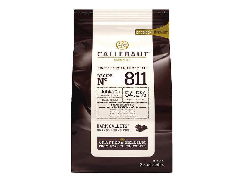 Callets Callebaut Amargo 54,5% Callets 2,5kg