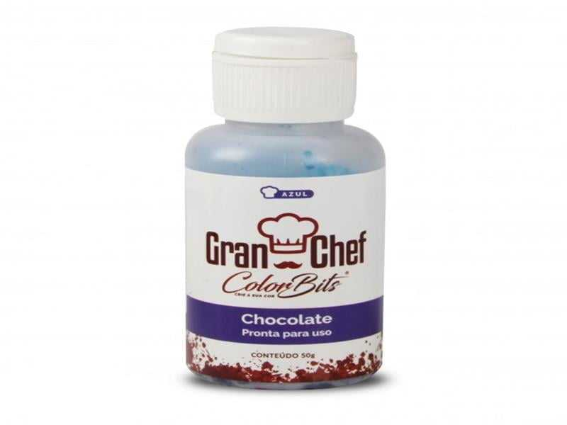 Corante Color Bits para Chocolate Azul 50g – Gran Chef