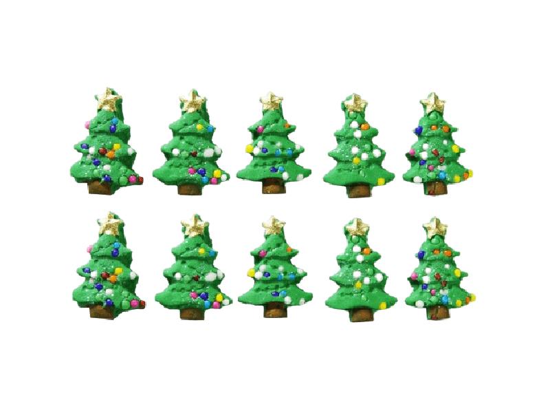 Biscuit Comestível Natal Árvore - Jady Confeitos