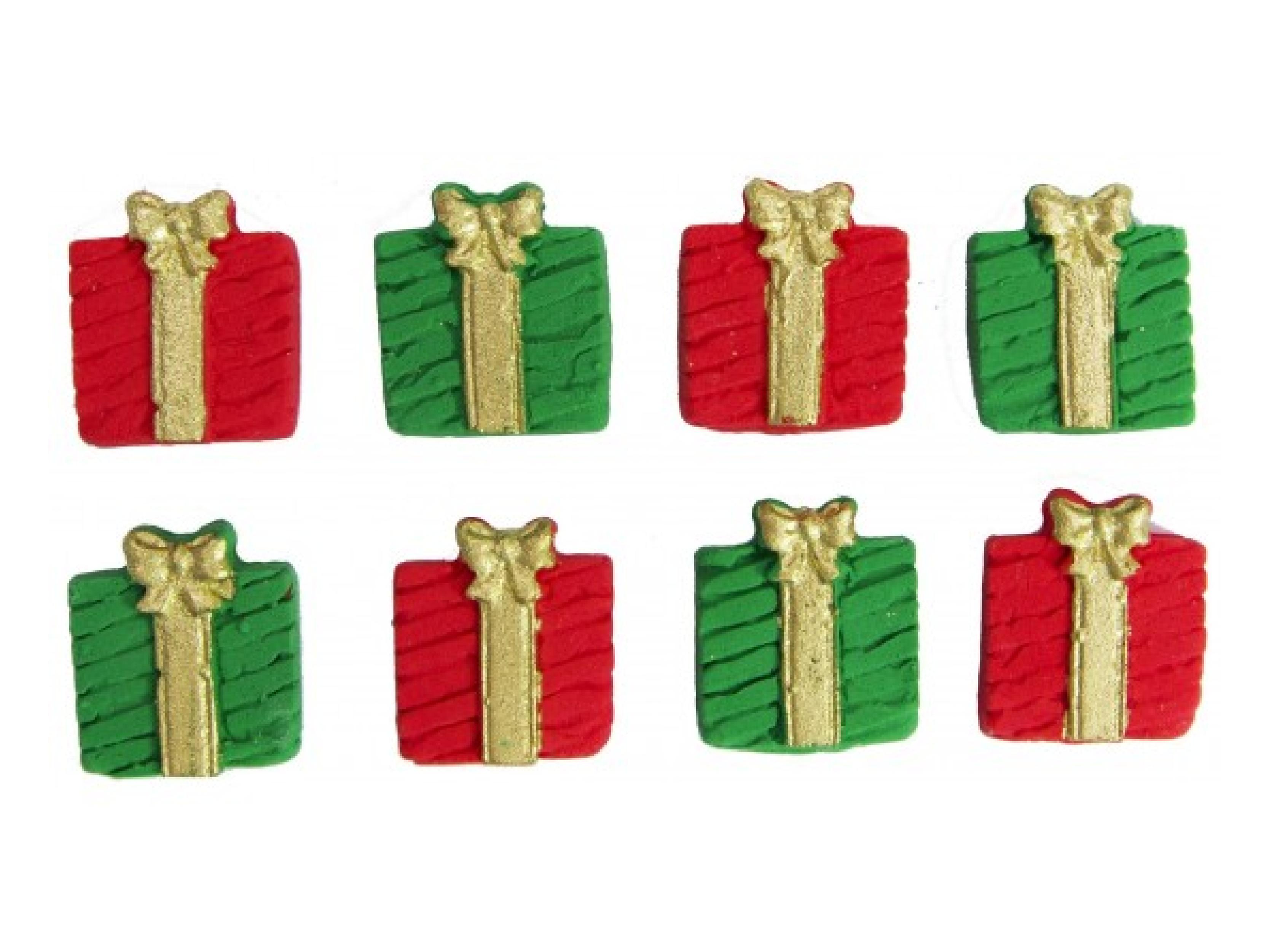 Biscuit Comestível Natal Presentinhos - Jady Confeitos