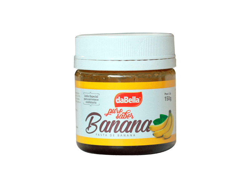 Pasta Saborizante Banana 150g  – daBella Puro Sabor