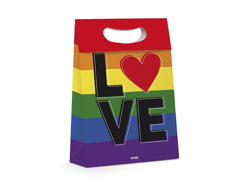 Caixa Maleta Plus LGBTQ 18x7,5x25