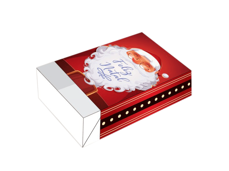 Caixa para 6 Doces – Feliz Natal