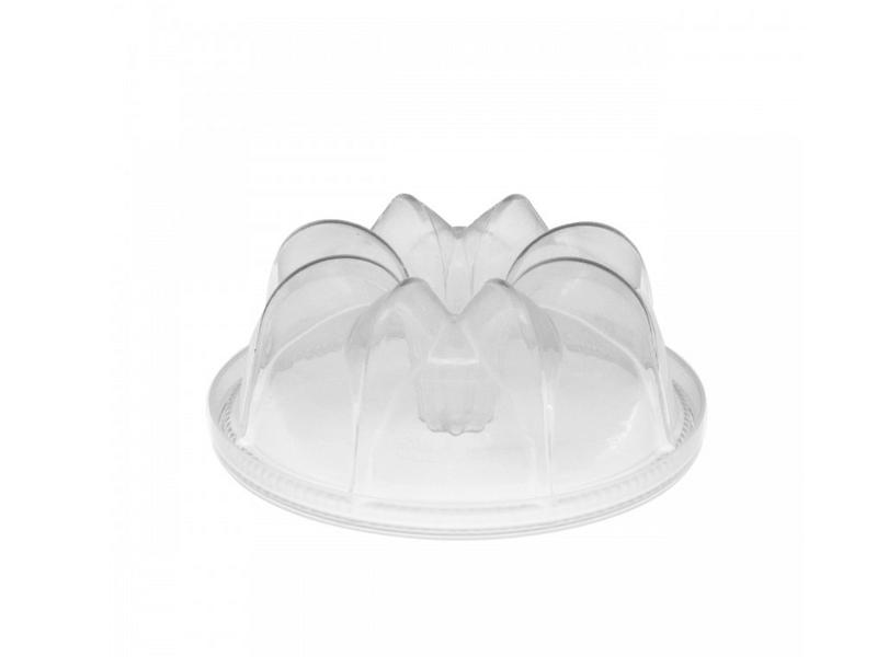 Forma para Bolo de Plástico com Tampa c/ 10 unidades