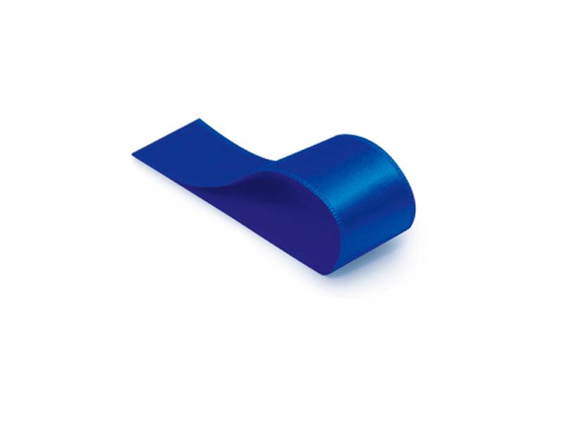 Fita de Cetim Lisa Azul Royal 10,5 mm – Cromus