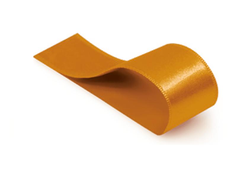 Fita de Cetim Lisa Ouro 21,5 mm – Cromus