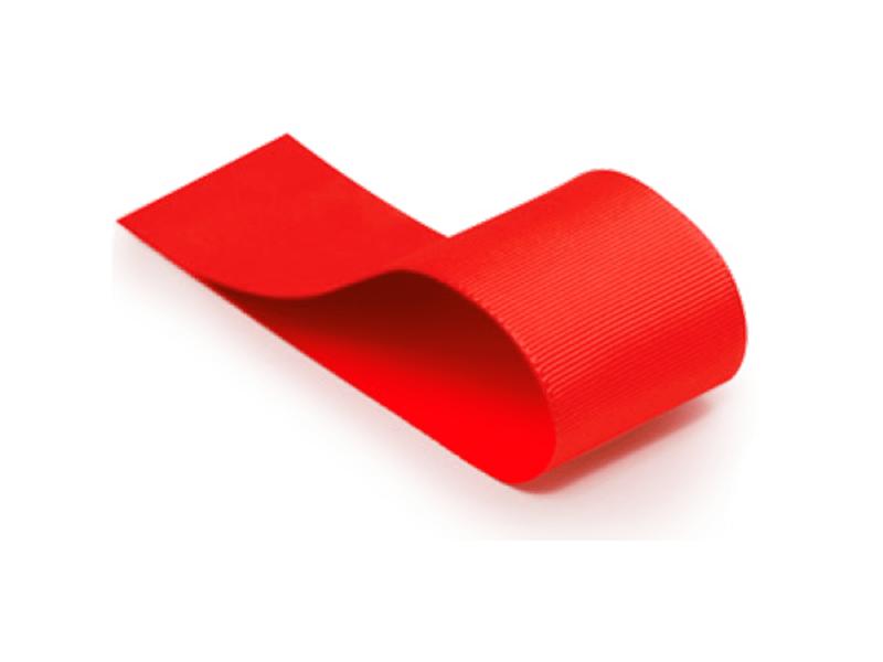 Fita Gorgurão Vermelha 39 mm – Cromus
