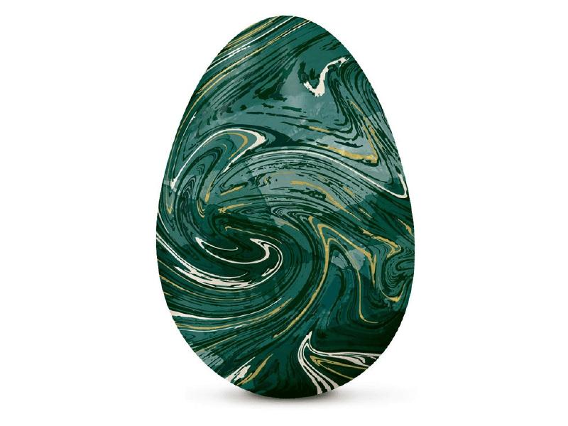 Papel Chumbo Verde Marmorizado 43,5x59 cm c/ 5 Folhas - Cromus