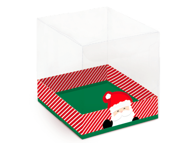 Caixa para Panetone de 100g Acetato Noel - Cromus