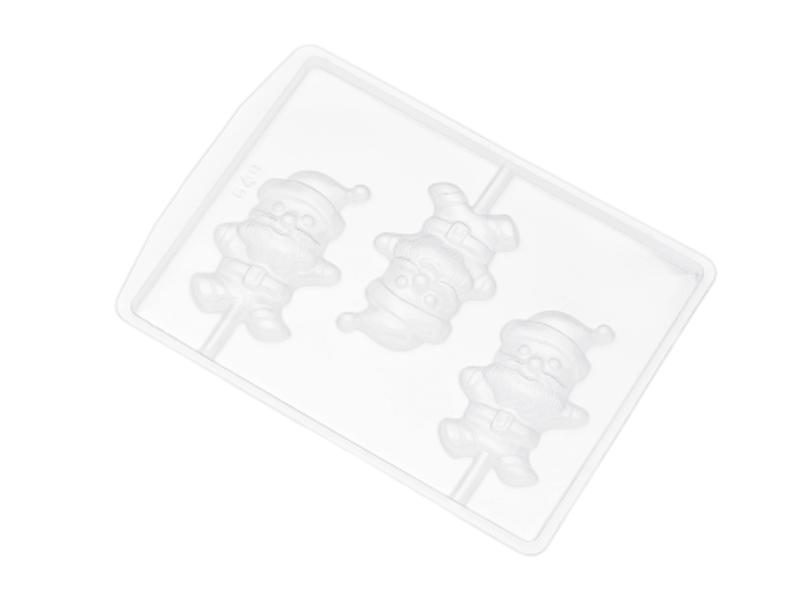 Forma de acetato Pirulito Corpo Papai Noel  - Nishimoto