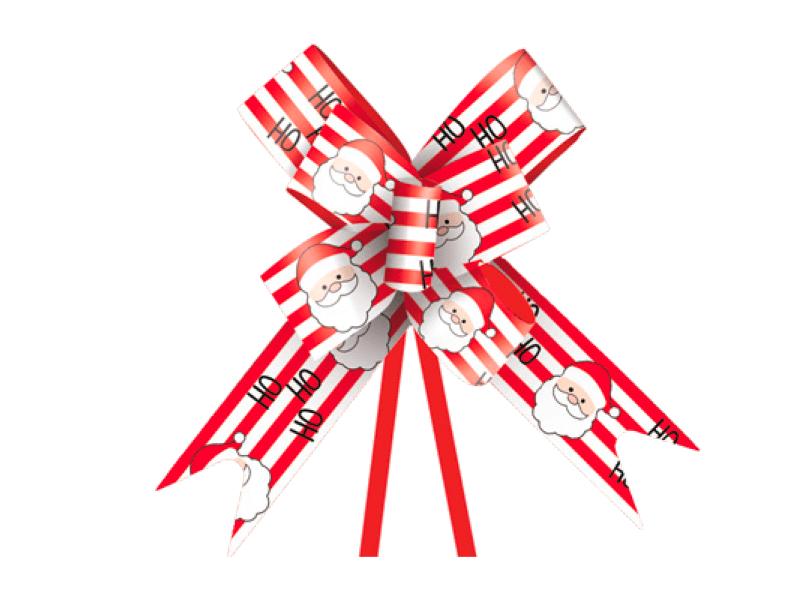 Laço Pronto Noel c/ 10 Ho Ho Ho – Cromus