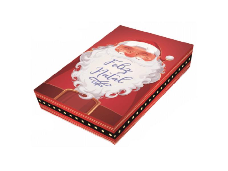 Caixa para 12 Doces c/ 3 – Feliz Natal